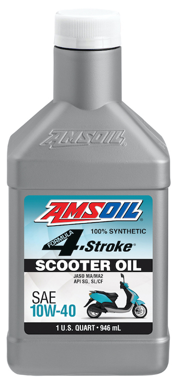 Formula 4-Stroke Synthetic 10W-40 Scooter Oil (ASO)