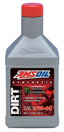 Synthetic SAE 10W-40 Dirt Bike Oil (DB40)